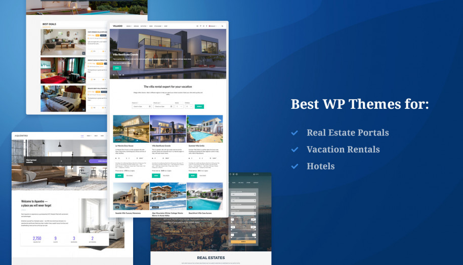 best real estate themes